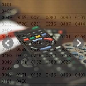 Códigos mando universal para TV